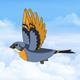 Bird in Flight - VideoHive Item for Sale