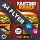 Fast Food Burger Flyer Templates - GraphicRiver Item for Sale