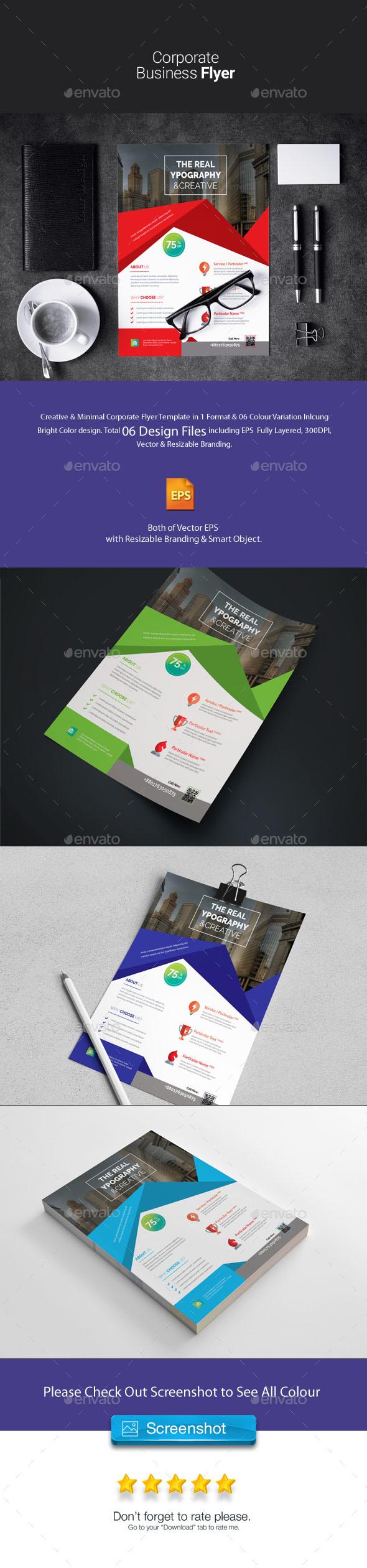 Corporate Flyer - Corporate Business Cards