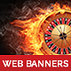 Web Banner Casino - GraphicRiver Item for Sale