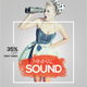 Minimal Sound - PSD Flyer Template