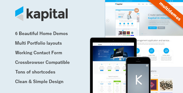 Kapital – Responsive Multi-Purpose Template