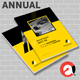Annual Report Brochure Template 2018 - GraphicRiver Item for Sale