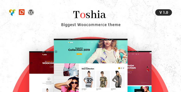 Toshia - Woocommerce WordPress Theme
