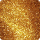 Golden Energy Particles Background - Vertical Nulled