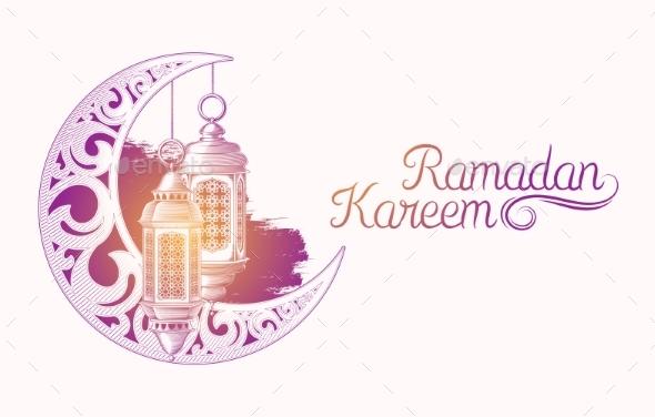 Ramadan Kareem - Religion Conceptual