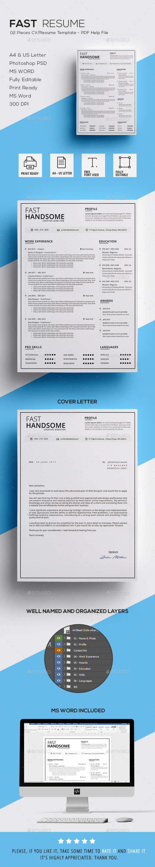 Fast Resume - Resumes Stationery