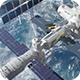 International Space Station Orbiting Earth Opener - VideoHive Item for Sale