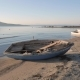 Empty Small Wooden Boats on the Beach - VideoHive Item for Sale