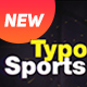 Typo Sports Opener - VideoHive Item for Sale