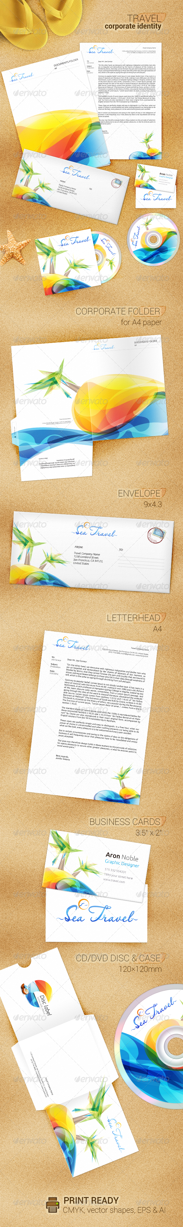 Colorfull Corporate Identity - Stationery Print Templates