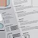 Rhombus Resume - GraphicRiver Item for Sale