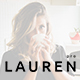 Lauren - Personal & Clean Blog Template - ThemeForest Item for Sale