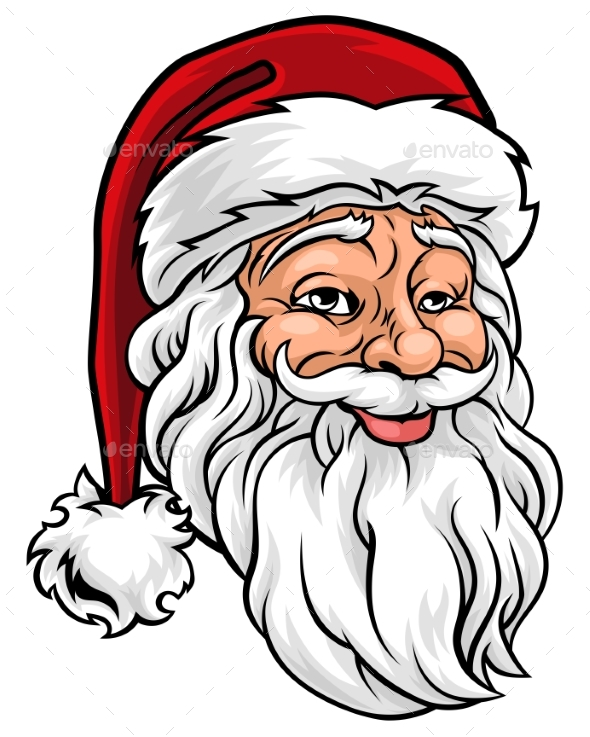 Santa Claus Christmas Illustration - Christmas Seasons/Holidays