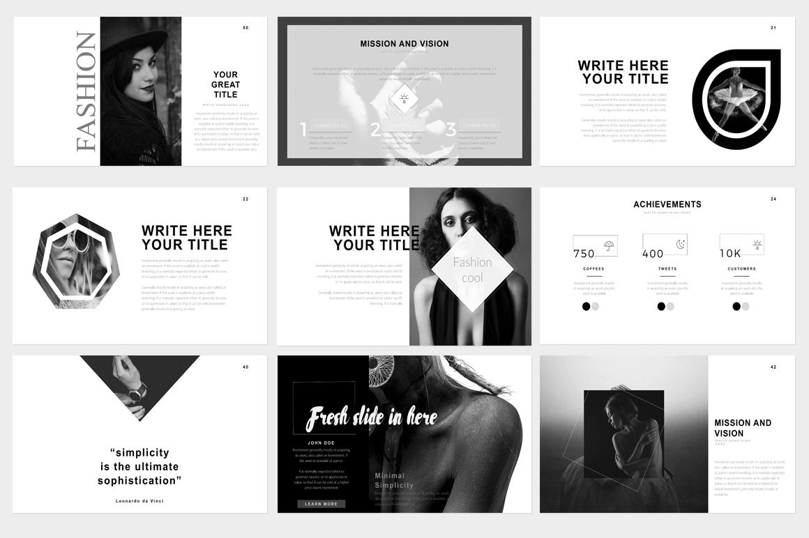 Fashion Alive Google Slide Presentation