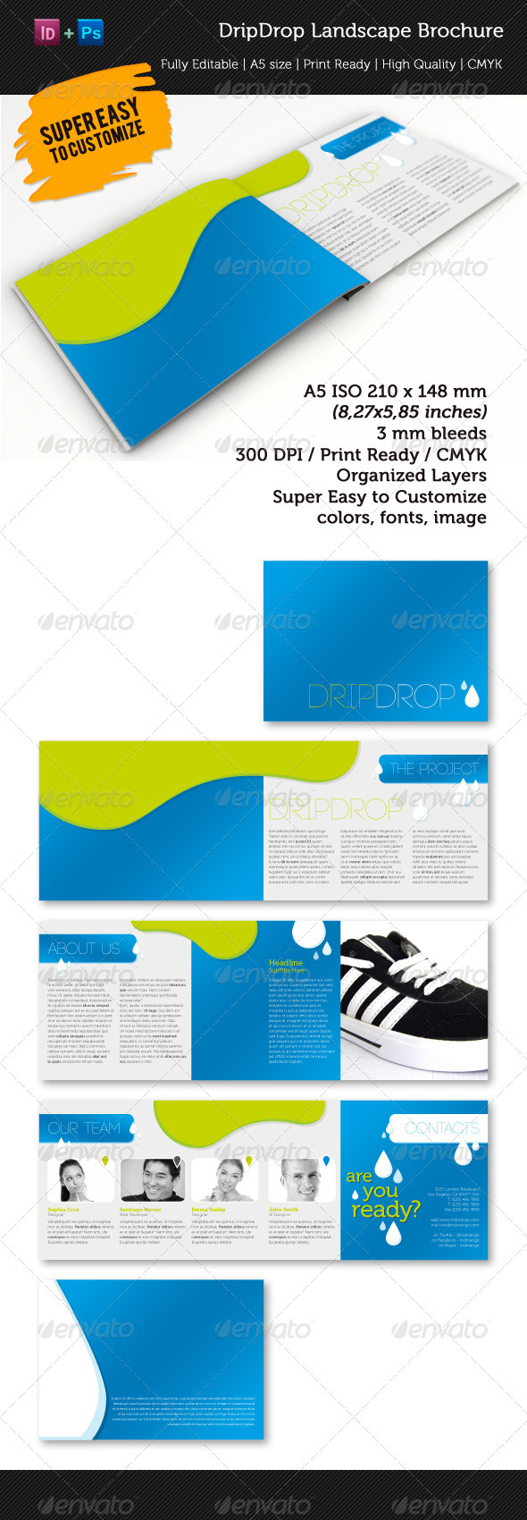 DripDrop A5 Brochure - Corporate Brochures
