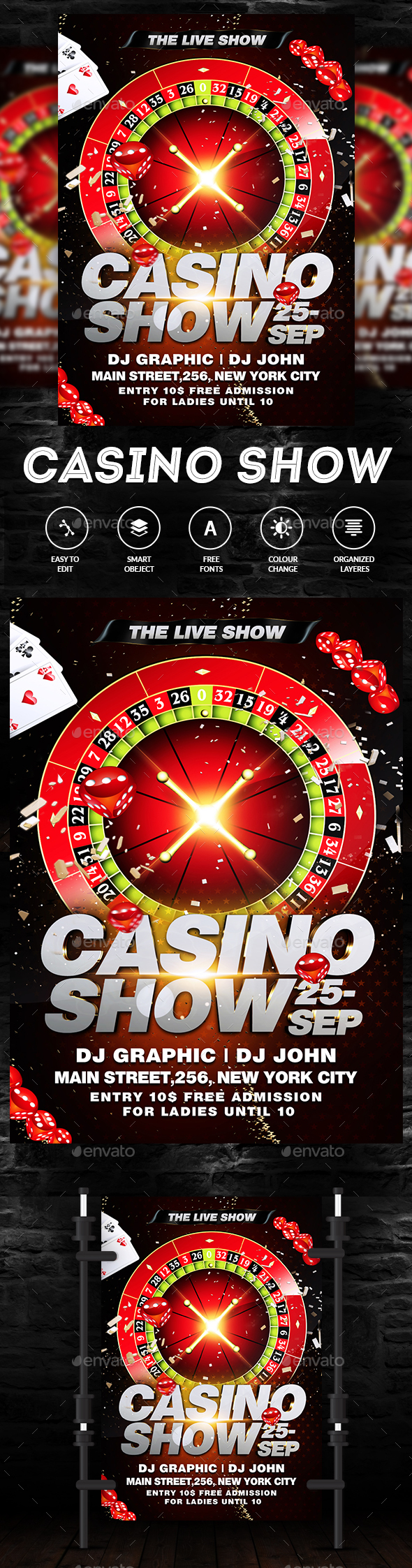 Casino Royal Party - Clubs & Parties Events