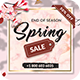 Spring Sale Flyer Template - GraphicRiver Item for Sale