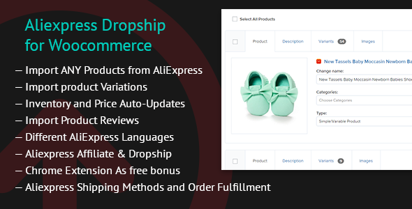 Aliexpress Dropship for Woocommerce - CodeCanyon Item for Sale