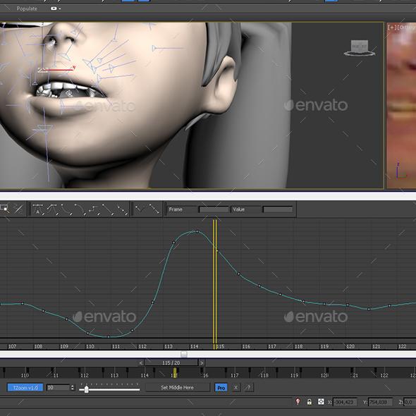 TimeZoom 3ds Max script - 3DOcean Item for Sale