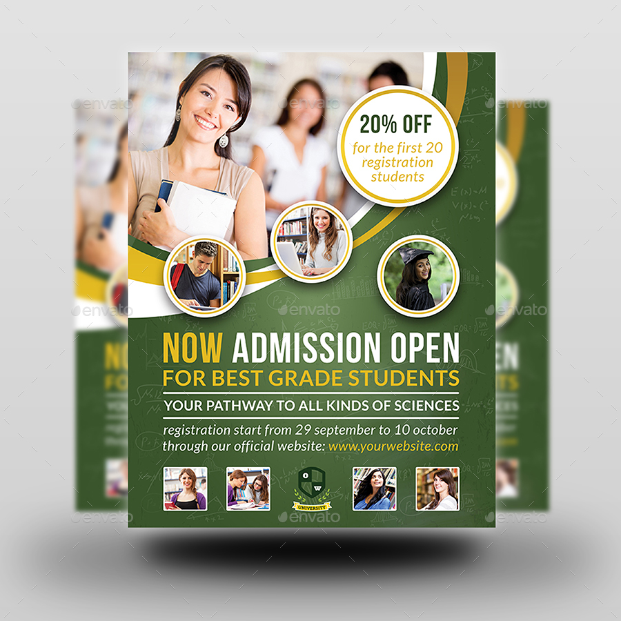 nurses week flyer templates - education advertising bundle by owpictures graphicriver