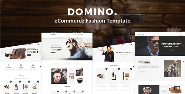 Domino– eCommerce Fashion Template - Fashion Retail