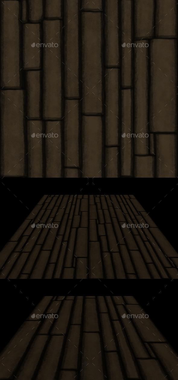 Wooden planks 2 tile - 3DOcean Item for Sale