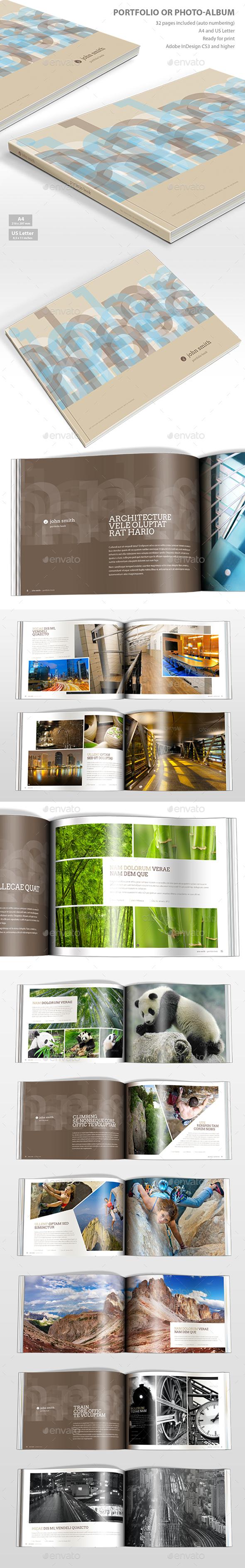 Album or Portfolio - Portfolio Brochures