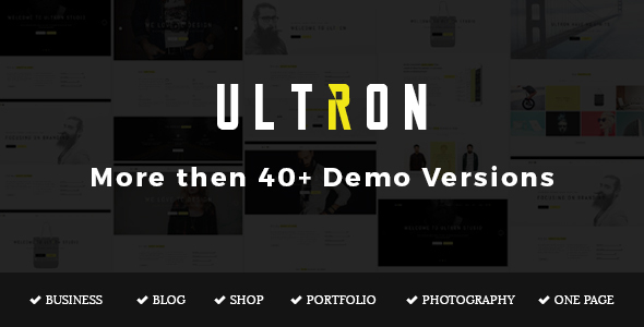 Ultron - Responsive Multipurpose Joomla Template - Business Corporate