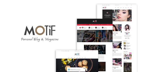 Motif – Multi-Demo Blog & Magazine PSD Template