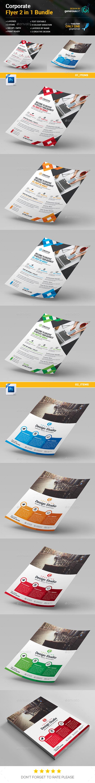 Flyer Bundle 2 in 1 - Flyers Print Templates