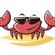 Crab Logo Template