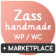 Zass - WooCommerce Theme for Handmade Artists and Artisans Nulled