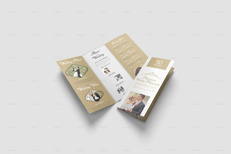 Wedding Brochure Template By DesignHaunt GraphicRiver - Wedding brochure templates