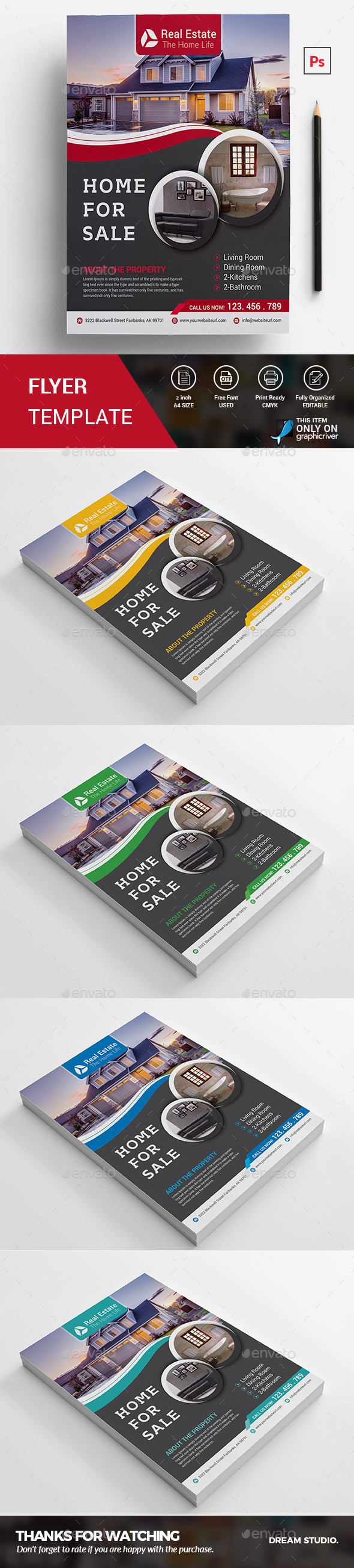 Real Estate Flyer - Corporate Flyers