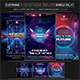 Electro Music Flyer/Instagram Bundle Vol. 41 - GraphicRiver Item for Sale