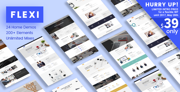 Flexi WP | Responsive Multipurpose Flexible WordPress Theme