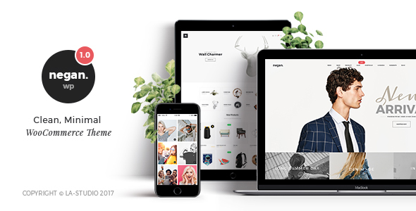 Negan – Clean, Minimal eCommerce PSD Templates