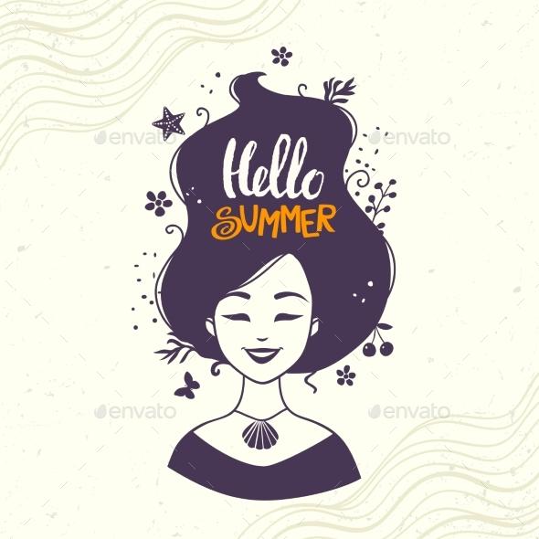 Hello Summer - Miscellaneous Vectors