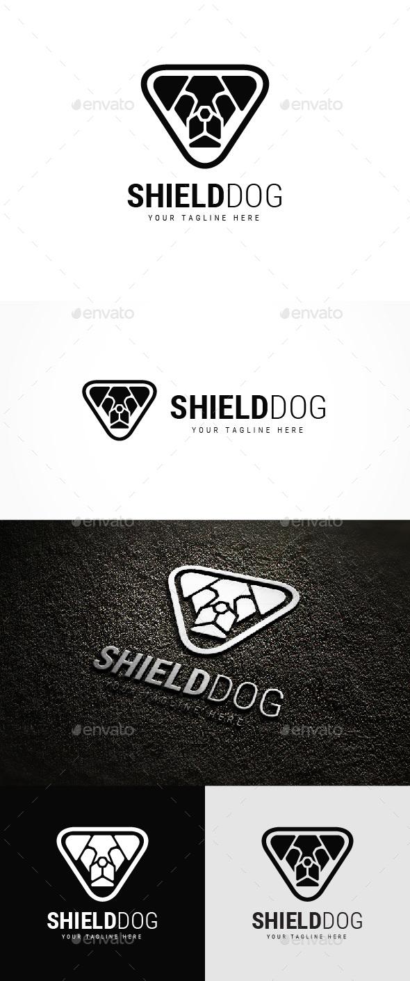Shield Dog Logo