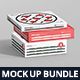 Pizza Box Mockup Bundle - GraphicRiver Item for Sale