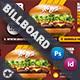 Fast Food Burger Billboard Templates - GraphicRiver Item for Sale