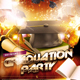 Graduation Day Party Flyer - GraphicRiver Item for Sale
