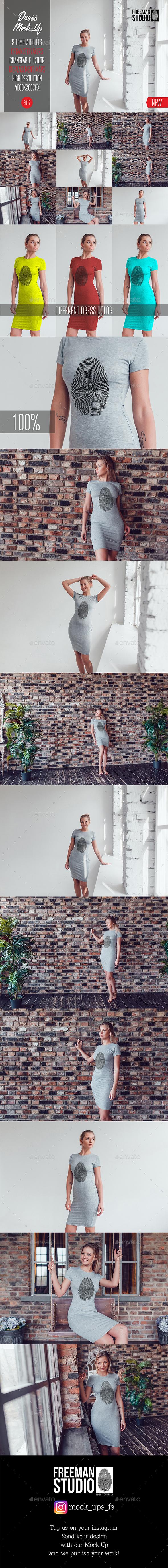 Dress Mock-Up Vol.2 2017 - Miscellaneous Apparel