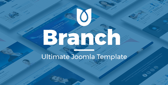 Image of Branch Multi-Purpose Joomla! Template
