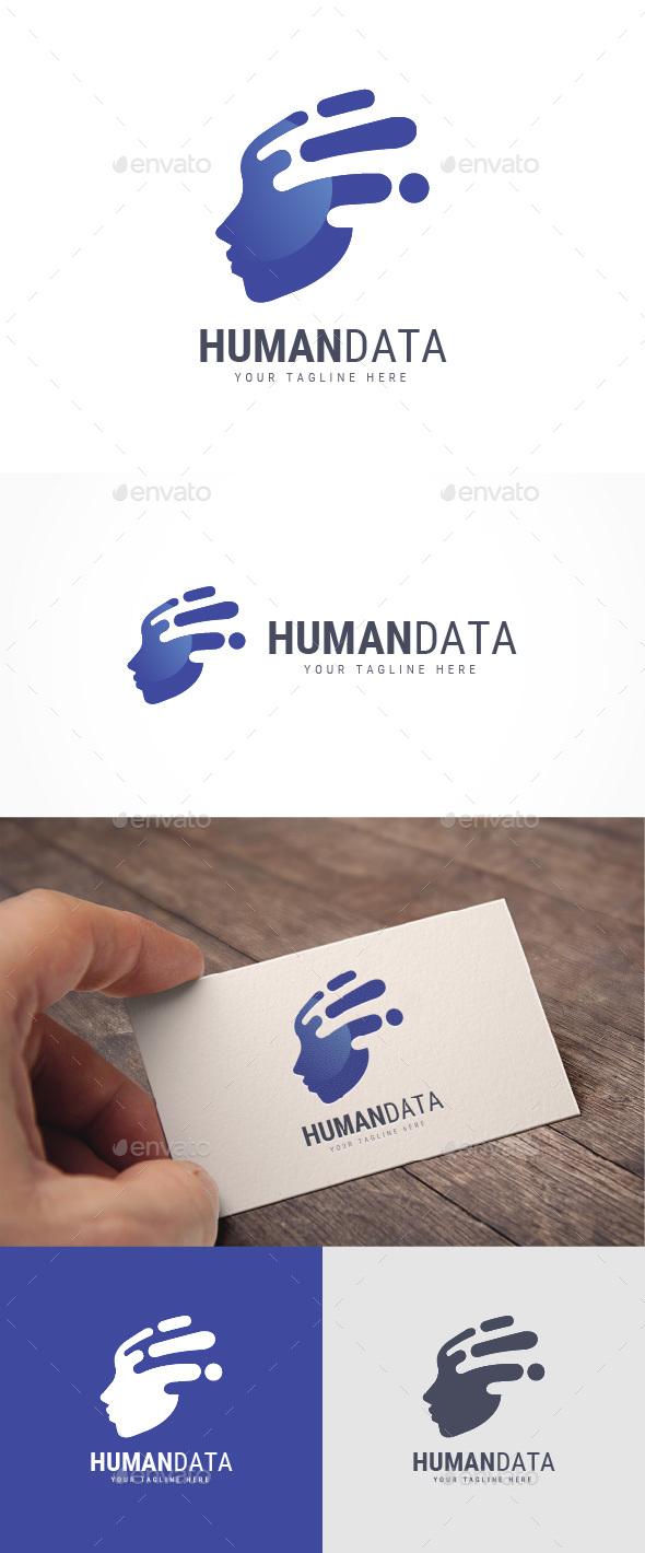Human Data Logo - Humans Logo Templates