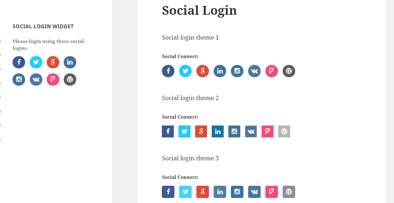 WP Ultimate Social - All in One Social Features' Collection WordPress Plugin