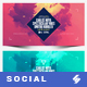 Electronic Music Party vol.21 - Facebook Post Banner Templates