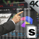 Stock Market Screen - VideoHive Item for Sale