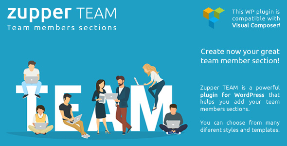 Zupper TEAM plugin - team members sections for your wordpress themes - CodeCanyon Item for Sale